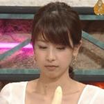 加藤綾子アナ(カトパン)のエロいフェラ顔画像