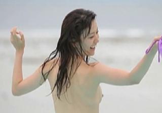 大島優子の乳首流出画像1