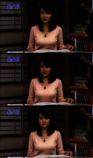 滝本沙奈アナ巨乳の乳首+乳輪+乳頭モロ透け画像takimotosana2