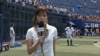 本田朋子アナ!ジャイアンツナインの視線を釘付けにした美乳おっぱいのエロお宝画像th1