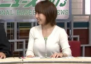 香屋ルリコアナ・巨乳おっぱいの谷間胸チラリ放送事故エロお宝画像