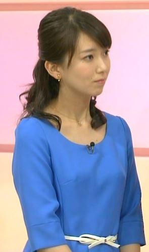 和久田麻由子アナ乳首の突起が胸ポチの放送事故エロお宝画像wakuta2