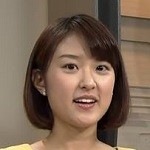 近江友里恵アナあわや乳首まで見えそうになる放送事故エロお宝画像