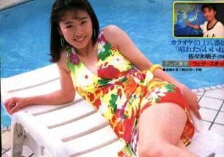佐々木明子アナウンサーの水着画像