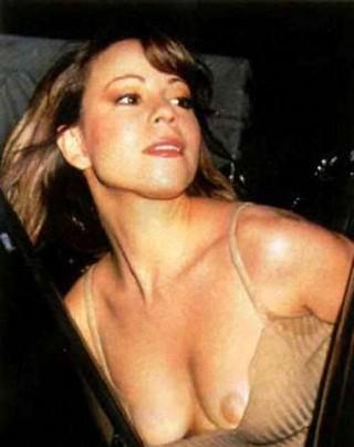 マライヤ・キャリーおっぱいポロリ乳首露出放送事故エロお宝画像