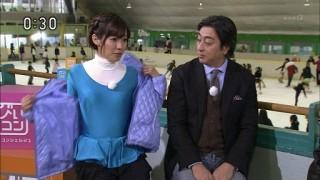 中村慶子アナ乳首胸ポッチおっぱい放送事故エロお宝画像