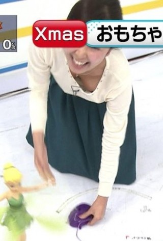 徳重杏奈アナ乳首ポロリおっぱい放送事故エロお宝画像