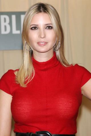 イヴァンカ・トランプさん乳首の突起が胸ポチエロお宝画像