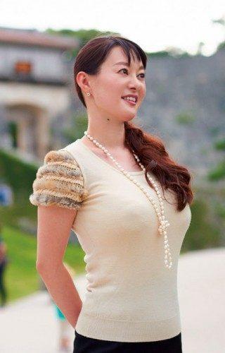 竹中知華 元NHK巨乳アナの乳首透け画像