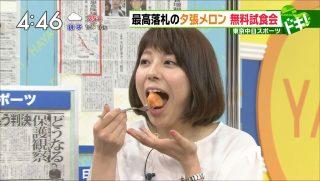 上村彩子アナのエロいフェラ顔お宝画像