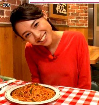 伊藤楓アナ乳首透け胸ポチ放送事故エロお宝画像