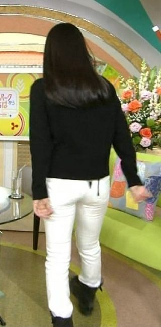 miwaのお尻パン線エロお宝画像