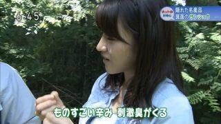 赤木野々花アナのエロいフェラ顔お宝画像